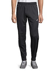 Asics Solid Drawstring Pants Dark Grey Heather