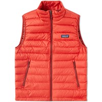 Patagonia Down Sweater Vest Red