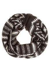 Your Turn Snood Black Grey White