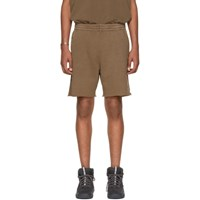 Yeezy Brown Sweat Shorts