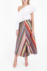 Rosie Assoulin Women S Melted Rainbow A Line Skirt Boutique1 903 Melted Rainbow