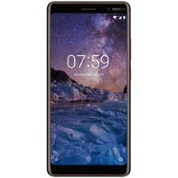 Nokia 7 Plus Smartphone Android 6 4G Lte Sim Free 64Gb Black Copper