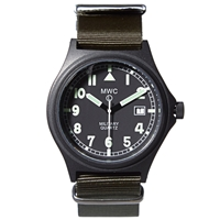 Mwc G10 Stealth Military Watch Olive Nato Strap