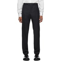 Salvatore Ferragamo Grey Tailored Trousers