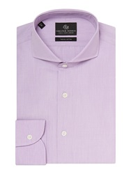 Chester Barrie Richard Contemporary Fit Shirt Lilac