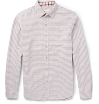 Alex Mill Tattersall Checked Cotton Shirt Red