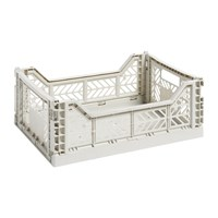Hay Storage Crate Light Gray
