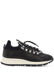 Philippe Model Rossignol X Pm Veau Leather Sneakers Black
