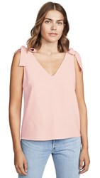 Amanda Uprichard Josephina Top Dusty Rose