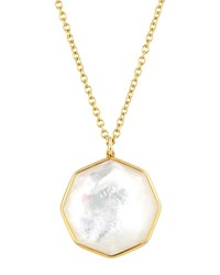 Ippolita 18K Rock Candy Large Octagon Necklace In Mother Of Pearl Doublet Ivory
