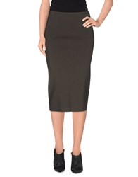 Gentryportofino Skirts 3 4 Length Skirts Women Black