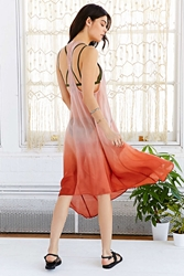 Staring At Stars Parachute A Line Dress Coral