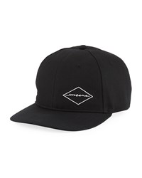 Rag And Bone Men's Dylan Embroidered Baseball Cap Blk Diamond