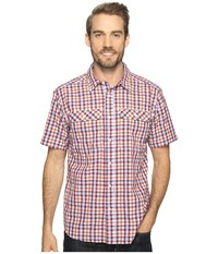 Mountain Hardwear Canyon Ac Short Sleeve Shirt Cote Du Rhone Men's Short Sleeve Button Up Pink