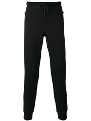 Dolce And Gabbana Side Logo Track Trousers Black