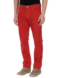 Chiribiri Casual Pants Red