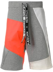Christopher Raeburn Remade Jersey And Kite Sweat Shorts Grey