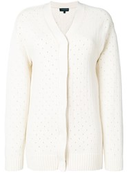Cashmere In Love Baby Chunky Cardigan Nude And Neutrals