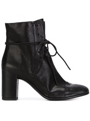 Roberto Del Carlo Lace Up Boots Black