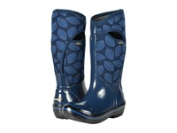 Bogs Plimsoll Leafy Tall Dark Blue Multi Women's Boots