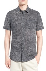 Men's Volcom 'New Noise' Trim Fit Short Sleeve Print Woven Shirt