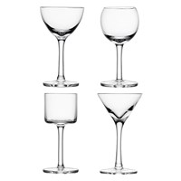 Lsa International Lulu Liqueur Glasses Set Of 4 Assorted