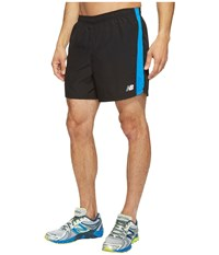 New Balance Accelerate 5 Shorts Electric Blue Black Men's Shorts