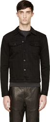 Surface To Air Black Denim Outsider Jacket