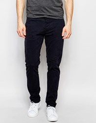 Only And Sons Chinos In Skinny Fit Blue