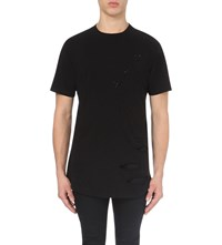 Criminal Damage Shoreditch Cotton Jersey T Shirt Black