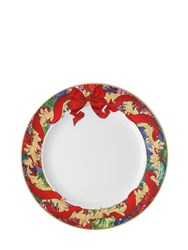 Versace Reflections Of Holidays Fruit Plate Multicolor