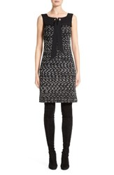 St. John Women's Collection Liya Tweed Shift Dress