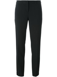 Michael Michael Kors Cropped Tailored Trousers Black