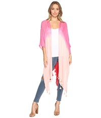 Bindya Ombre Kimono Light Pink Women's Clothing