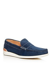 Hudson Mccall Boat Shoes Navy