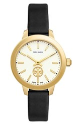 Tory Burch Women's 'The Collins' Leather Strap Watch 38Mm