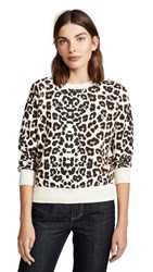 Mother The Square Sweatshirt Touch Of The Tiger