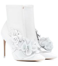 Sophia Webster Exclusive To Mytheresa Jumbo Lilico Leather Ankle Boots White