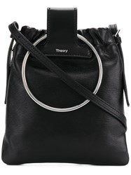 Theory Post Shoulder Bag Black