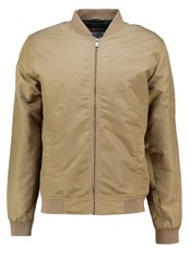 Only And Sons Onsabas Bomber Jacket Kangaroo Camel