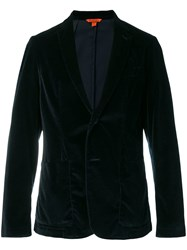 Barena Velvet Dinner Jacket Blue