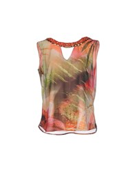 Guess By Marciano Topwear Tops Women Coral