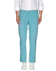 Plus Trousers Casual Trousers Men Turquoise