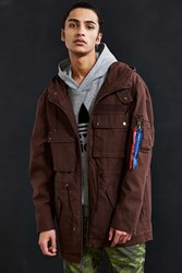 Alpha Industries Uo Long M 51 Parka Jacket Chocolate