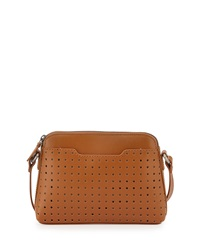 Kelsi Dagger Northside Baby Leather Crossbody Bag Cognac