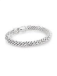 Chimento 18K White Gold Braided Bracelet