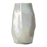 Pols Potten Graphic Luster Vase Silver