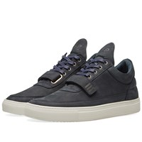 Filling Pieces Low Top Strap Sneaker Blue
