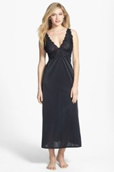 Natori Lace Sleep Gown Black