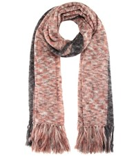 Isabel Marant Izia Mohair Blend Scarf Multicoloured